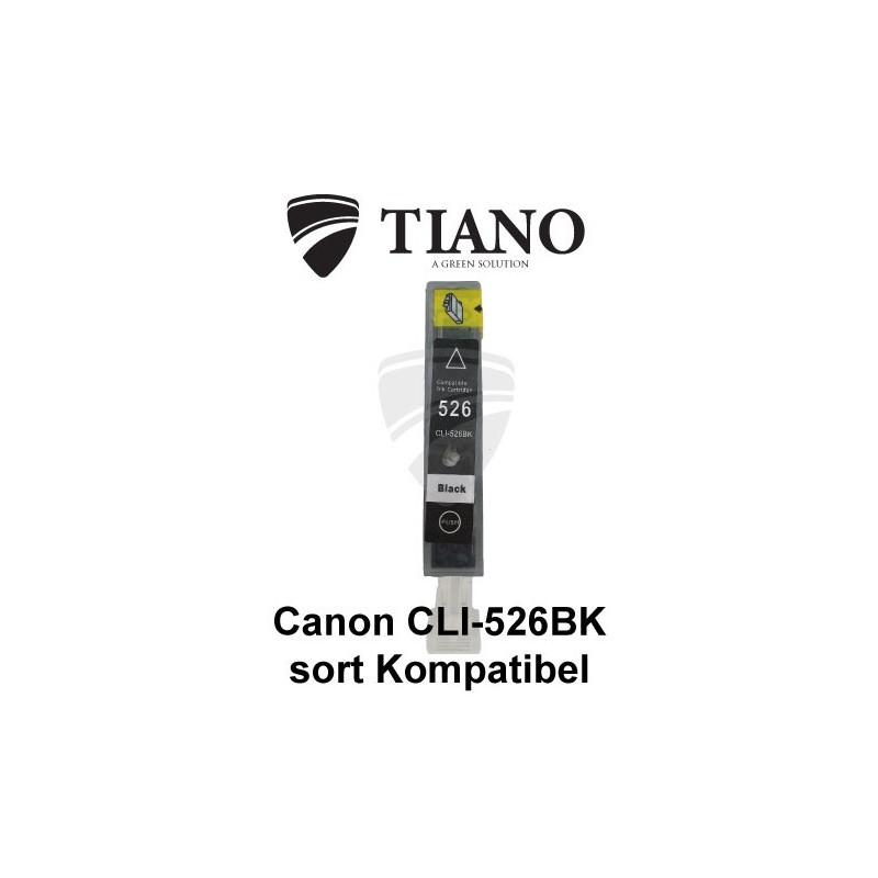 Canon CLI-526BK sort kompatibel blæk