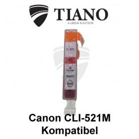 Canon CLI-521M magenta kompatibel blæk