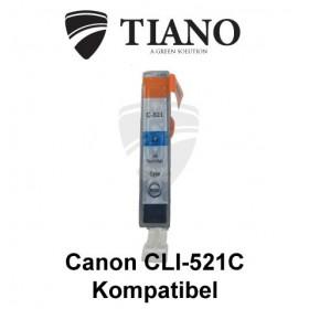Canon CLI-521C cyan kompatibel blæk