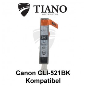 Canon CLI-521BK sort kompatibel blæk