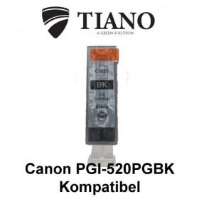 Canon PGI-520PGBK sort kompatibel blæk