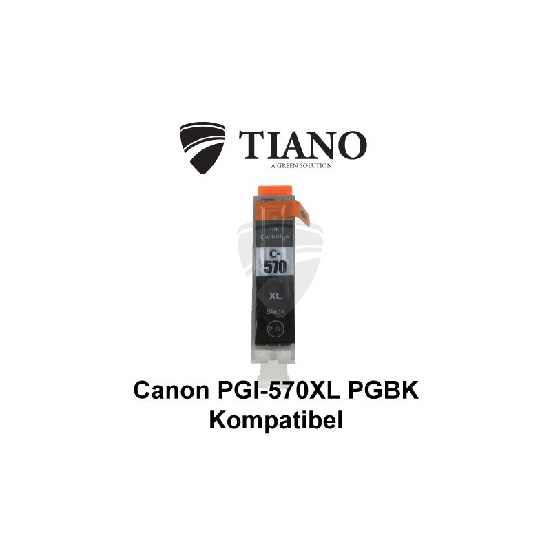 Canon PGI-570XL PGBK sort kompatibel blæk