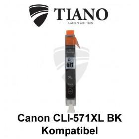Canon CLI-571XL BK sort kompatibel blæk