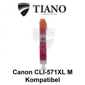 Canon CLI-571XL M magenta kompatibel blæk