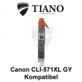 Canon CLI-571XL GY grå kompatibel blæk