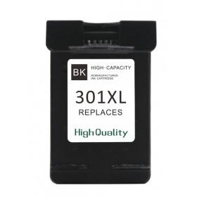 HP 301XL sort kompatibel blæk (CH563EE)