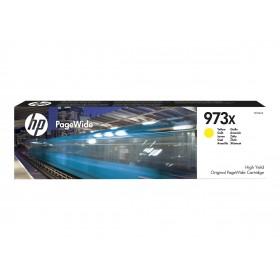Original HP 973X (F6T83AE) gul blæk med høj kapacitet